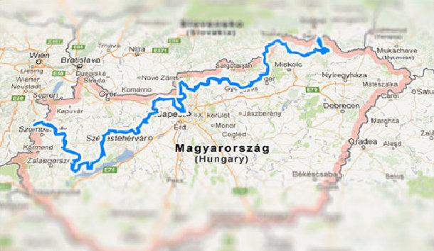 kéktúra térkép KÉKTÚRA TÉRKÉP – BogárTúra kéktúra térkép